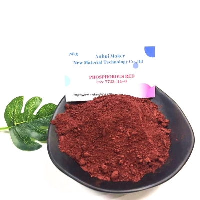 Red Phosphorus CAS 7723 14 0 with High Purity 99% white  powder 7723-14-0 Moker