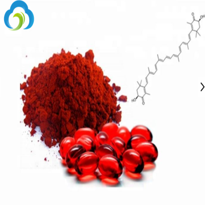 Plant Extract Astaxanthin 5% CAS 472-61-7 Anti-Aging