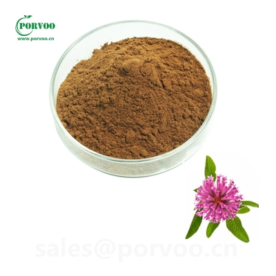 Natural Red Clover powder Isoflavones 20% 40% Red Clover Extract factory 85085-25-2 40% Purple 85085-25-2 porvoo